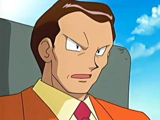Giovanni im Anime