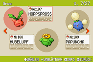 Pokémon-Habitate Gras Seite 7 NationalDex.png