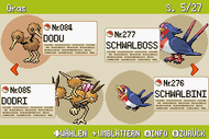 Pokémon-Habitate Gras Seite 5 NationalDex.png