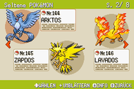 Pokémon-Habitate Seltene Pokémon Seite 2 NationalDex.png