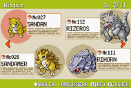 Pokémon-Habitate Wildnis Seite 2 NationalDex.png