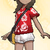 Alola-Shirt Sattes Rot weiblich USUM.png