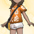 Alola-Shirt Sattes Orange weiblich USUM.png