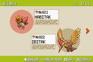 Pokémon-Habitate Wildnis Seite 1 NationalDex.png