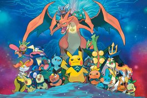 Artwork zu Pokémon Super Mystery Dungeon