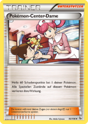 Pokémon-Center-Dame (Flammenmeer 93).png