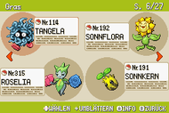 Pokémon-Habitate Gras Seite 6 NationalDex.png