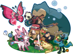 Illustration zu PokéMonAmi in Pokémon X und Y